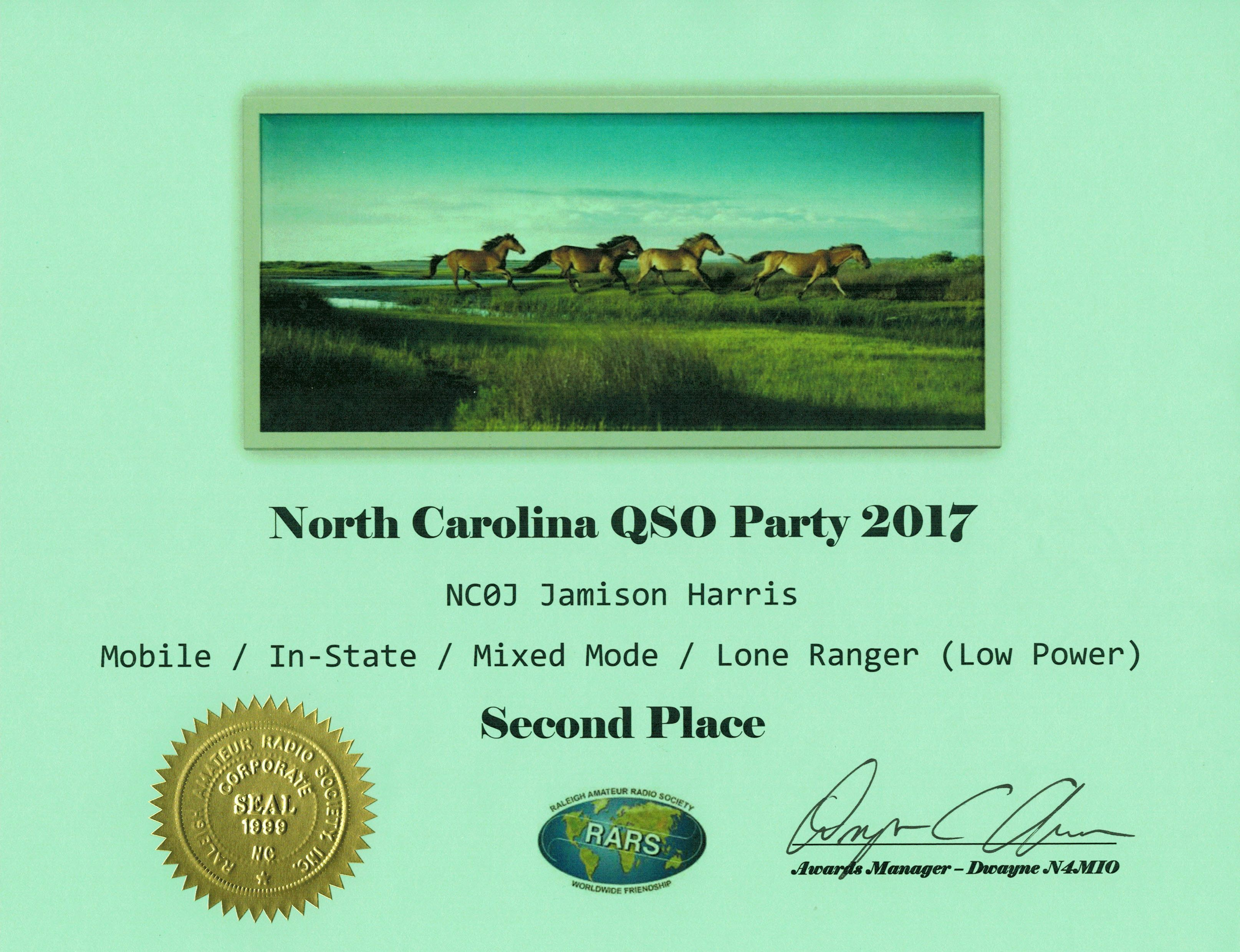 NC QSO Party